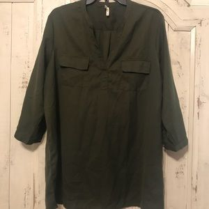 Truth NYC Tunic, Olive Green (XL)